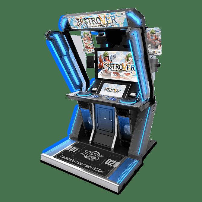 画像は、コナミアミューズメントのアーケードゲーム筐体「beatmania IIDX 28 BISTROVER」です。アーケードゲームは、業務用ゲーム機によるゲームのことです。その沿革は、電気・機械的な装置のピンボールと言われています。1990年代までは最先端技術の実験場とされていました。 アーケードゲームのようなアミューズメント筐体で電飾を伴う場合、基板(プリント配線板や電子回路基板)に半導体やコンデンサ、抵抗器などの部品を配置し配線し回路を組む、組み込みシステムの電子設計、配線設計を行います。また、ギミックがあれば機構設計の技術も必要です。製造後に回路設計や構成を再設定できる論理回路FPGA(Field Plogrammable Gate Aray)が搭載されているものもある。